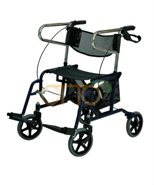 New steel rollator