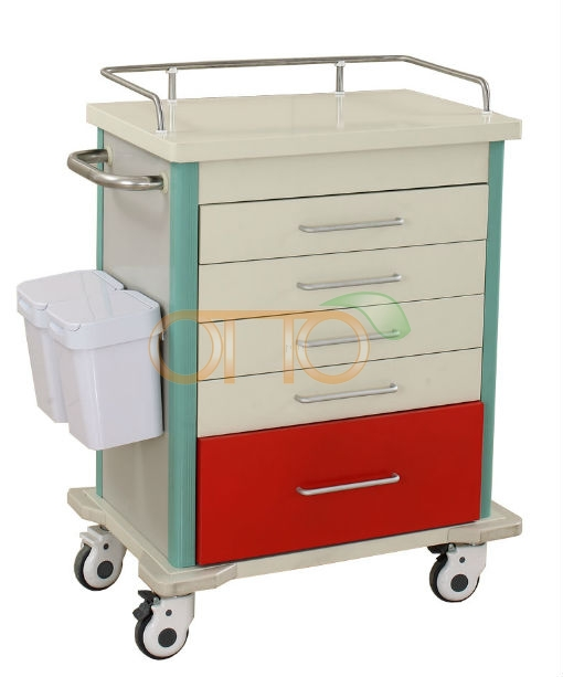 Medical emergency trolley