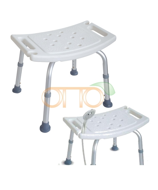 Bath chair with shower head holder