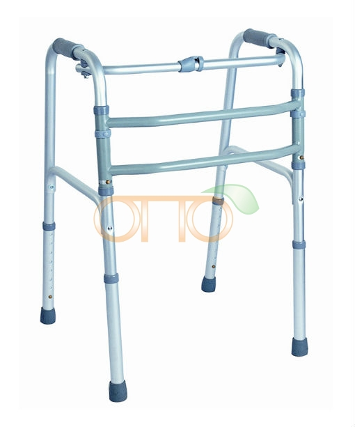 Aluminum reciprocating folding walker