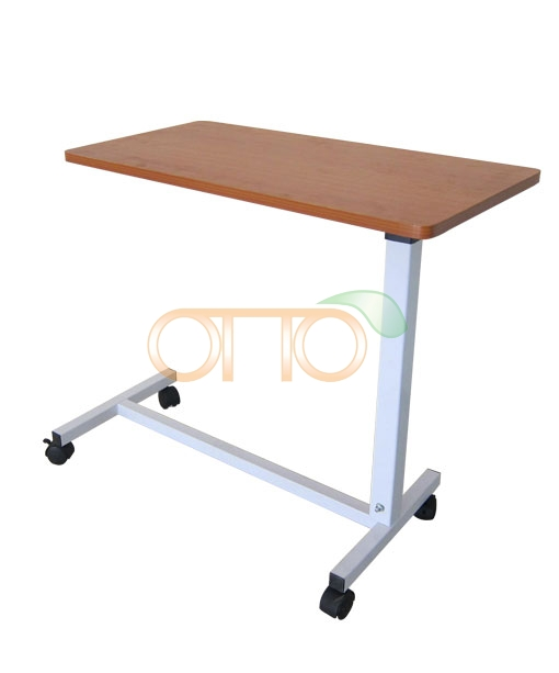 Overbed Table With Gas Spring